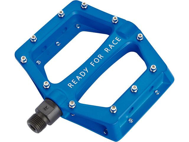 Cube RFR CMPT Flat Pedals blau